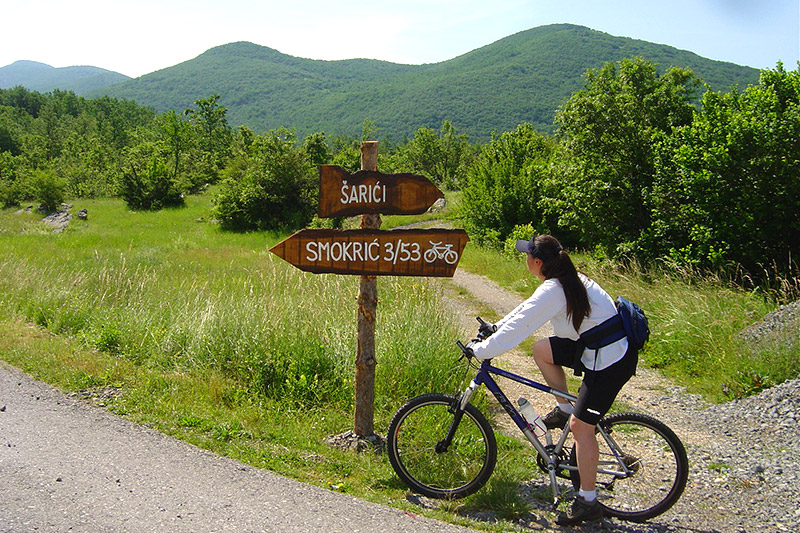 Restaurant Lika - Natur - Mountain Biking