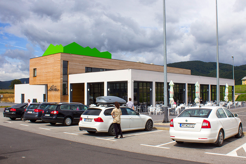 Restaurant Lika - Large Parking